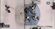 NHL – Hackett Desperate Glove Save on Eriksson – 3-29-2013