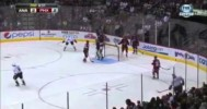 SAVE –  Mike Smith With an Improbable Skate Save – 3-2-2013