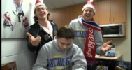 Edmonton Oil Kings Sing Santa Claus is Coming to Town – 12-7-2012