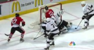 Save! – Quick with an Amazing Blocker to Stop Hawks – 6-8-2013