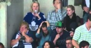 April Reimer and Elisha Cuthbert React to OT Loss – 5-8-2013