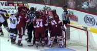 Mike Smith Angry After a Save! – 4-6-2013