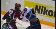 KHL Fight – Giroux vs Misharin – 10-22-2012
