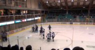 BCHL –  Penticton Vees Disallowed Goal Controversial in Loss – 1-11-2013