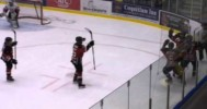 BCHL – Rockwood's Double OT Penalty Shot Goal! -1-11-2013