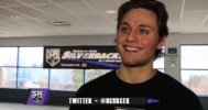 1 on 1 with #8 Damian Chrcek