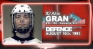 Rising Star – #2 Alex Gran (OK Rockets)