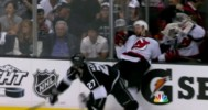 Alec Martinez Crushes Travis Zajac 6/11/12