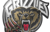 Victoria Grizzlies 3D Logo & Wallpaper