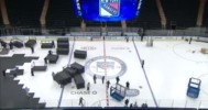 Basketball To Hockey Time-Lapse @ MSG
