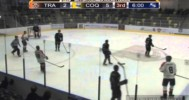 BCHL Player Slashes Ref