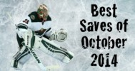 Best NHL Saves From October 2014