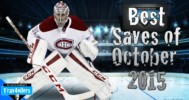 Best NHL Saves (October 2015)