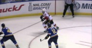 Bollig's Filthy Cheap Shot on Jackman
