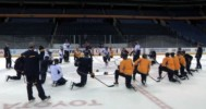 Sabres Rookie Dance Off 3-18-13