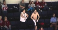 Chippendales Performance At The Americans Game