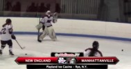 Goalie Gets Down To Candy Shop