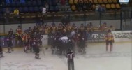 Danton Involved In Bench Clearing Brawl