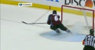 Erik Johnson Saves Game For Colorado 4-17-14