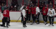 Fight Breaks Out @ Sens Camp