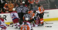 Flyers vs Capitals Brawl 3-5-14