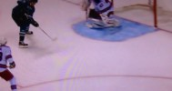 GOAL! Hertl Roofs a Between the Legs Snipe! – 10-8-2013