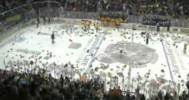 Green Bay Gamblers Toss Teddy Bears 1-25-14