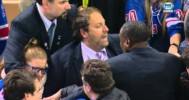 Grown Men Fight Over Lundqvist Stick