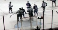 Stolarz Slashes Player In Head 3-25-14