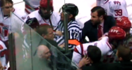 RPI vs Union Post College Game BRAWL 1-25-14