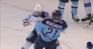 KHL Fight: Menshikov VS Ryspayev