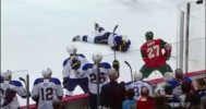 Match Penalty – Mike Rupp Headshots T.J Oshie 4-10-14
