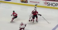 Methot HUGE Hip Check 1-31-15