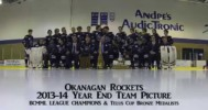 Okanagan Rockets 'Wrecking Ball' Picture