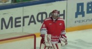 Russian KHL Jr Goalie Scores Goal 11-07-13