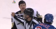 Sidney Crosby 'Nut Shot' On Dominic Moore 5-11-14