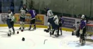 Silverbacks – Eagles Line Brawl 1-1-16