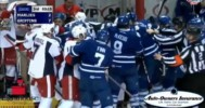 Tempers Boil Over Between Marlies and Griffins