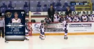 Viper's McCarthy Scores From Knees